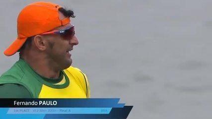 Fernando Rufino é ouro no Mundial de Paracanoagem