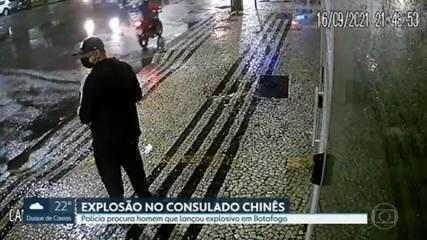 Polícia busca identificar autor de ataque contra Consulado Chinês no Rio