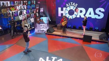 Juliette y Chico Cesar cantan
