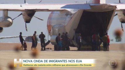 Estados Unidos começam a deportar centenas de imigrantes haitianos