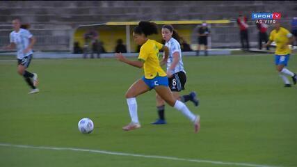 Melhores momentos: Brasil 4 X 1 Argentina pelo Amistoso da Seleção Feminina
