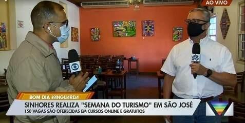 São José tem vagas gratuitas para cursos relacionadas ao turismo