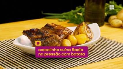 Costelinha suína Sadia na pressão com batata: veja a receita