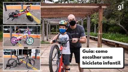 Saiba como escolher a bicicleta infantil