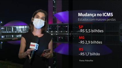 Auditores preveem perda média de R$ 24,1 bilhões em um ano com alteração do ICMS