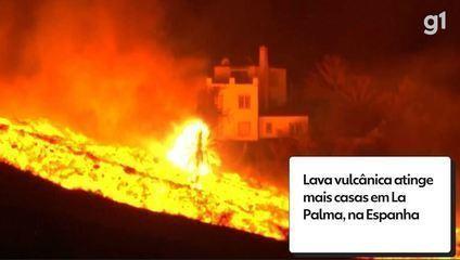 La erupción volcánica afectó a más hogares en la Palma, España