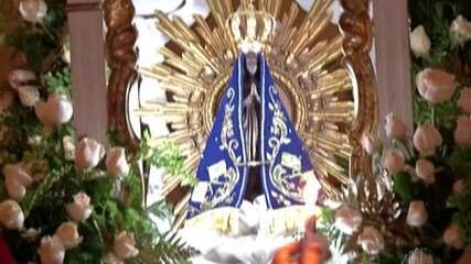 Catedral Sant'ana realiza missa à Nossa Senhora Aparecida