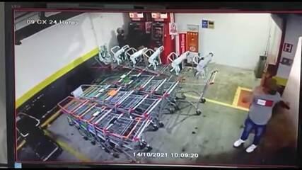 Vídeo mostra prisão de suspeitos de aplicar golpes em caixas eletrônicos de Sumaré