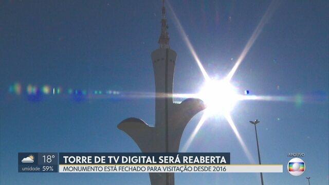 872d41fa25e2 Torre de TV tem previsão de reabertura para o próximo final de semana
