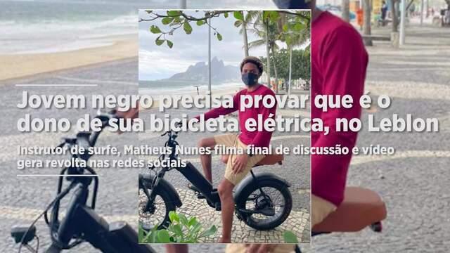 Instrutor de surfe, Matheus Nunes filma final de discussão e vídeo gera revolta nas redes sociais