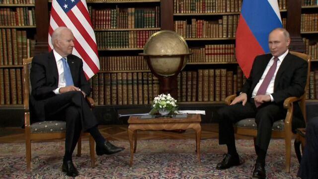 Presidentes dos EUA e da Rússia se reúnem pela primeira vez em Genebra