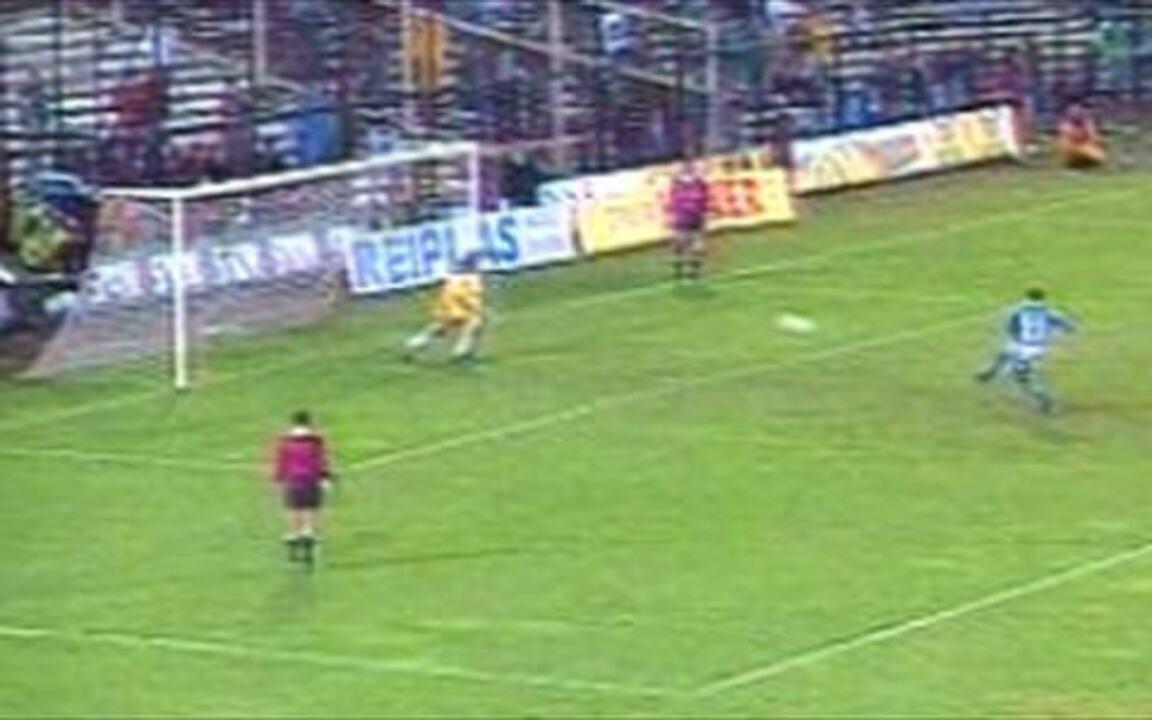 Em 1997, Cruzeiro vence o Colo Colo nos pênaltis pela Taça Libertadores