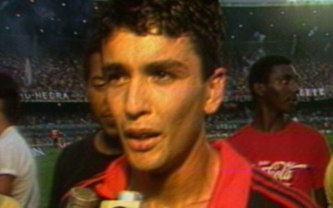 Em 1987, Flamengo vence o Internacional e conquista o Campeonato Brasileiro