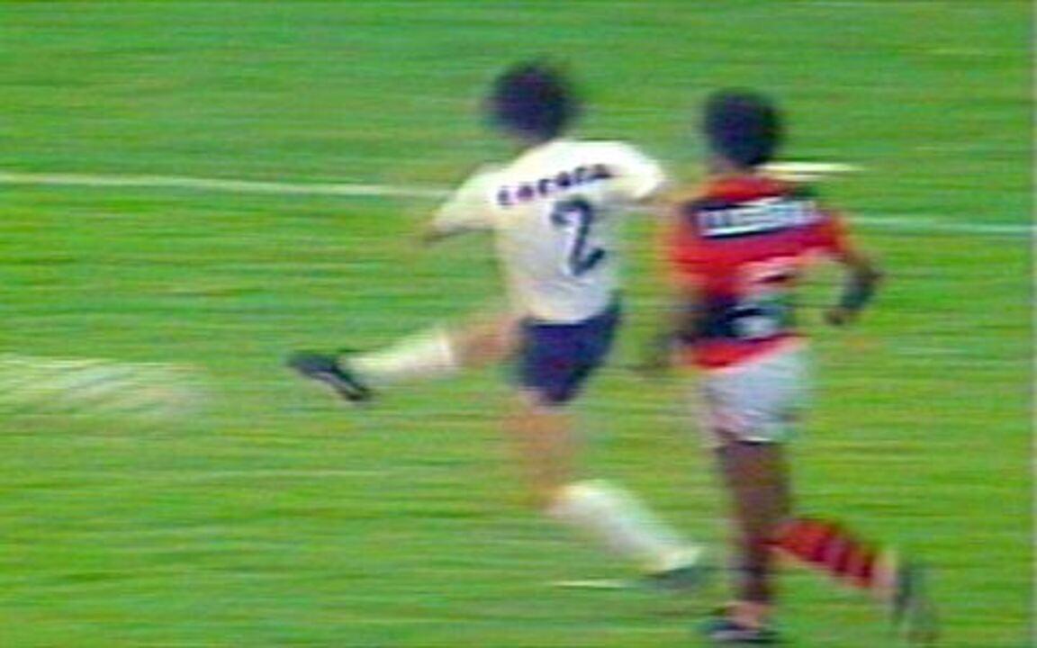 Em 1984, Corinthians vence Flamengo por 4 a 1 pelo Campeonato Brasileiro