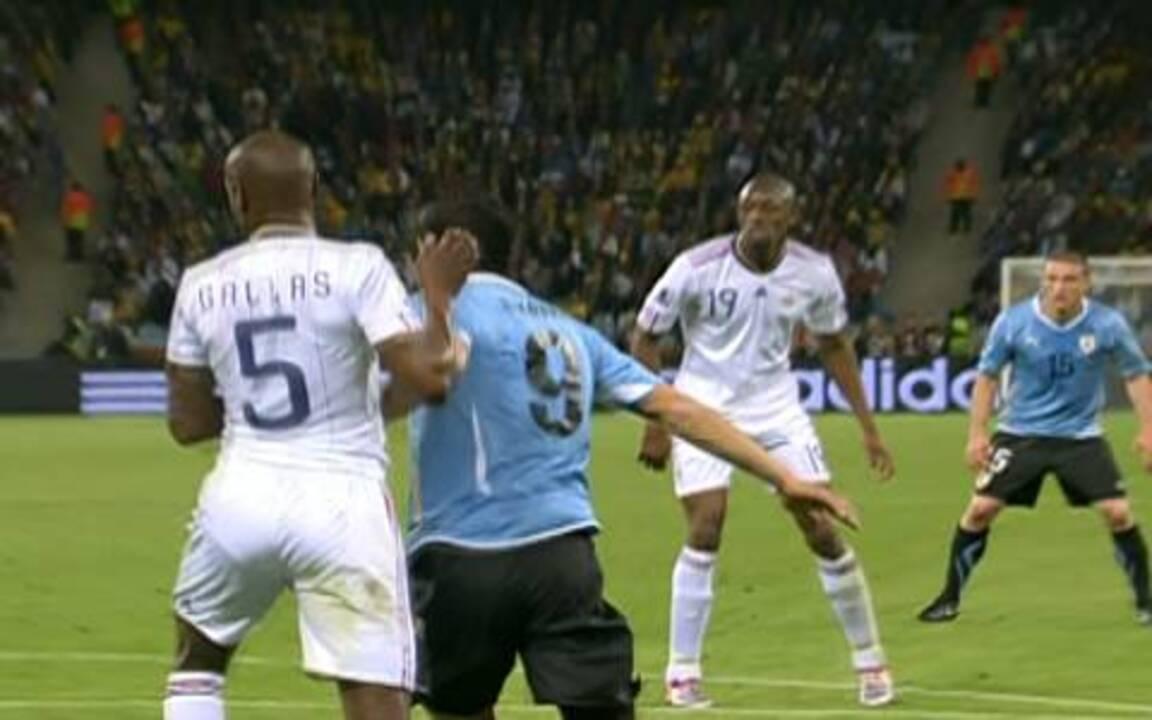 Melhores momentos: Uruguai 0 x 0 França pelo Grupo A da Copa do Mundo 2010