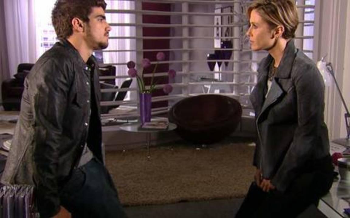 Ti ti ti - capítulo de sexta feira, 20/08/2010, na íntegra - Luisa quer que Edgar conte o que está acontecendo com ele!