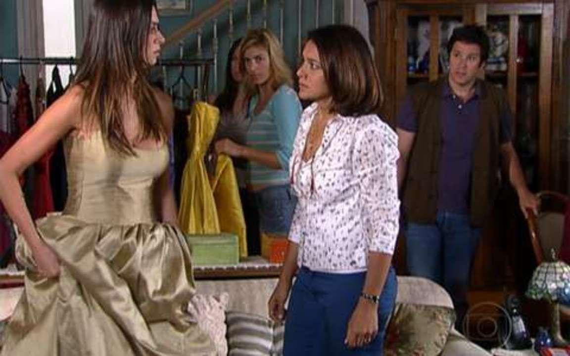 Ti-ti-ti - capítulo de sexta feira, dia 15/10/2010, na íntegra - Marta faz Amanda prometer que não se aproximará do filho de Jacques Leclair