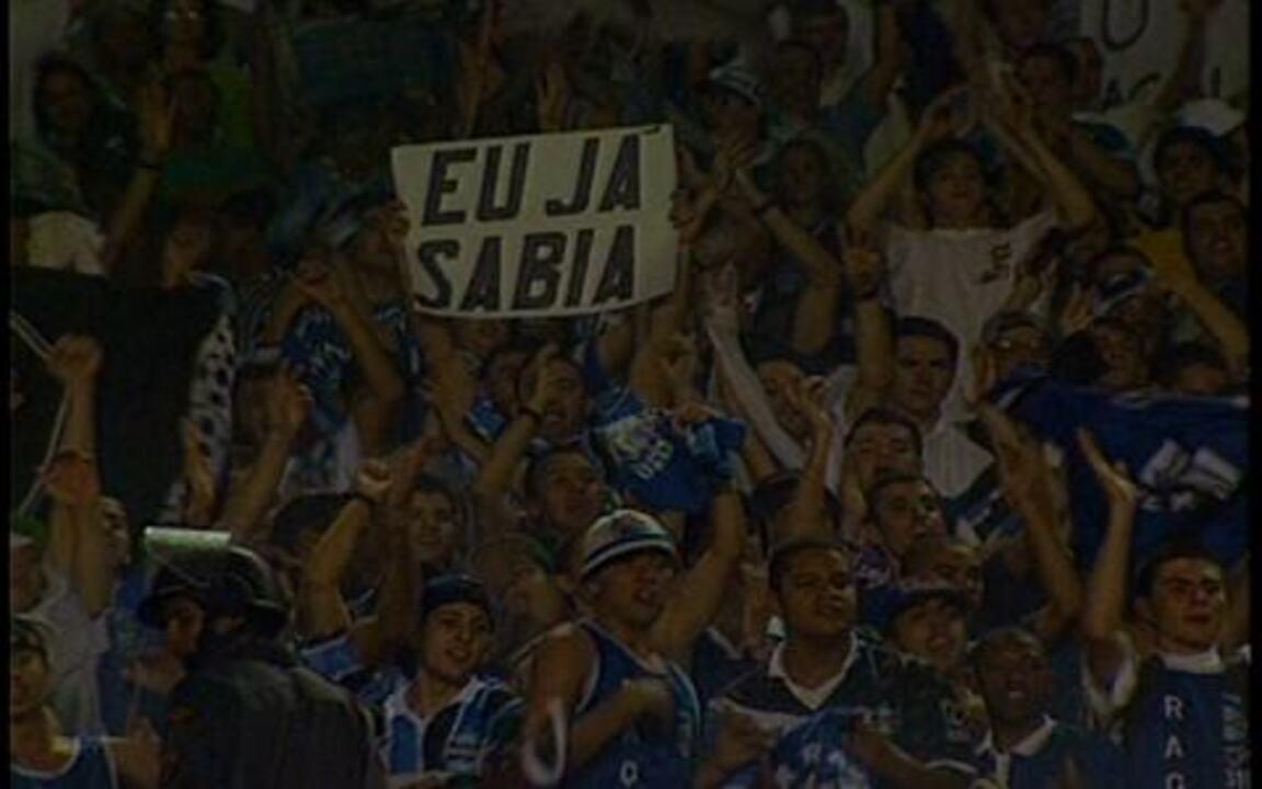 Em 1997, Grêmio empata com Flamengo e leva título da Copa do Brasil