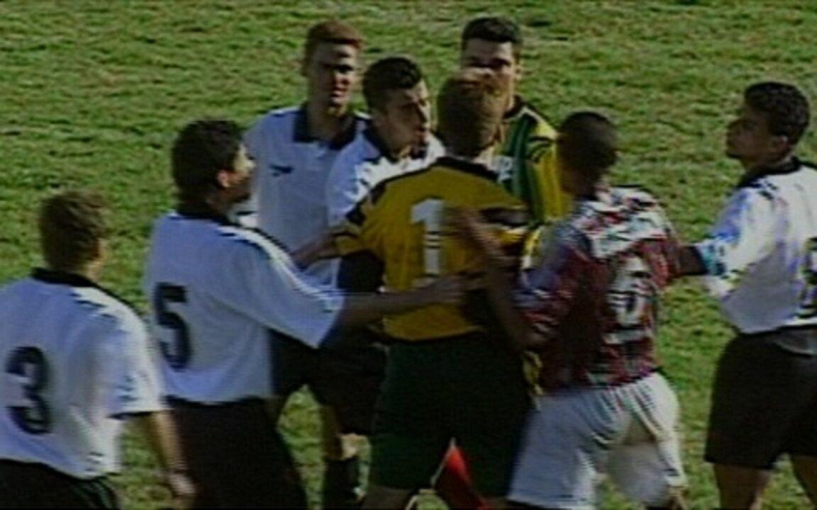 Em 1996, Atlético-PR vence Fluminense por 3 a 2 pelo Campeonato Brasileiro