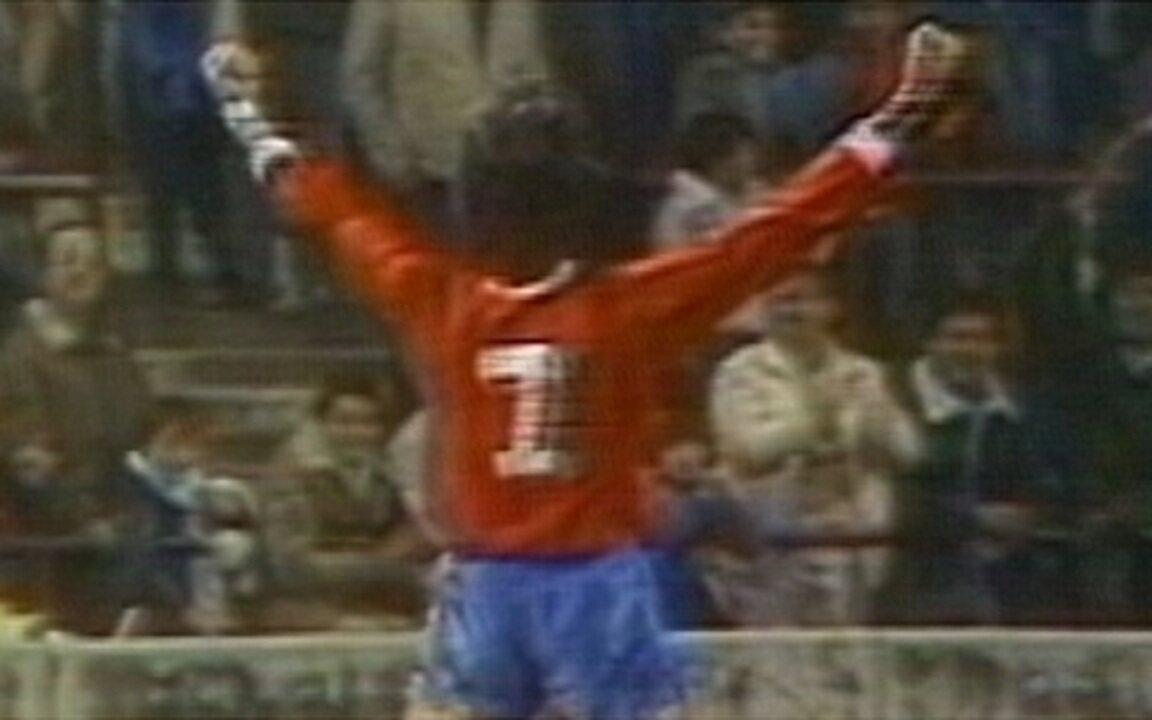 Em 1987, Brasil perde de goleada para o Chile na Copa América