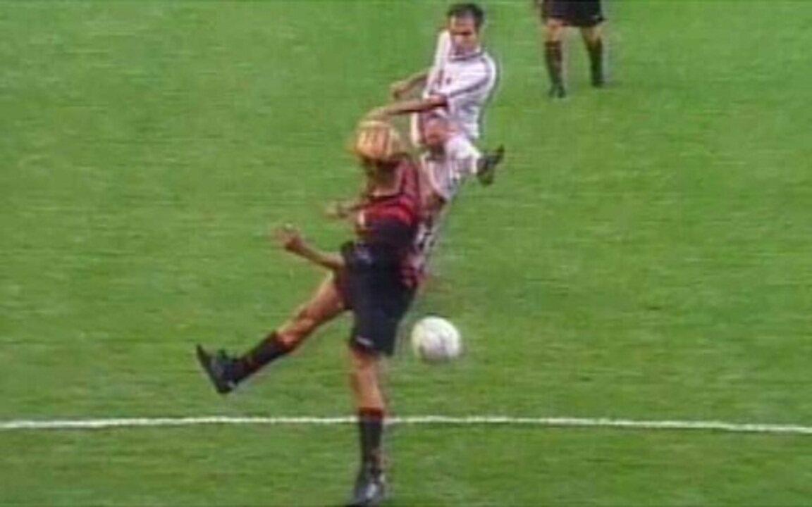 Em 2001, Fluminense vence o Atlético-PR pela primeira vez no Campeonato Brasileiro