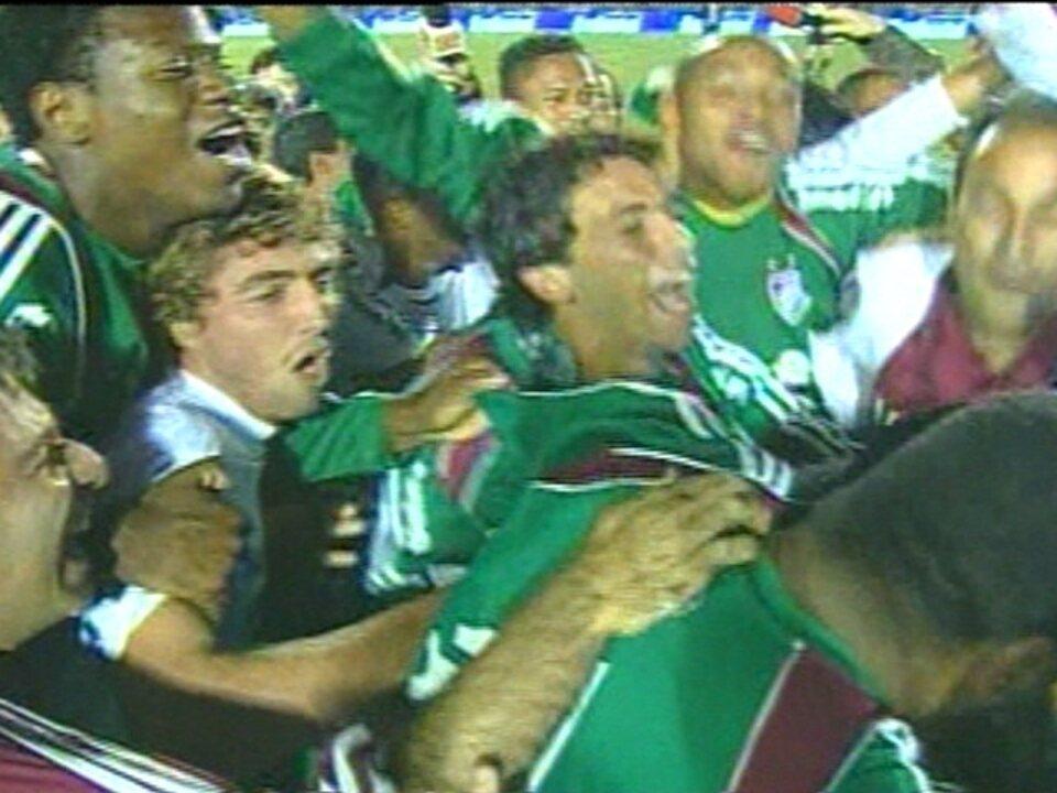Em 2007, Fluminense vence por 1 a 0 o Figueirense e conquista a Copa do Brasil