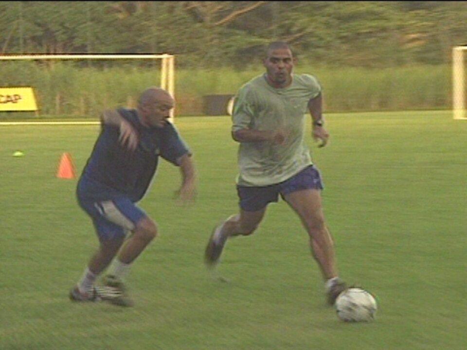Em 2002, Ronaldo mostra que está preparado para voltar a Seleção Brasileira