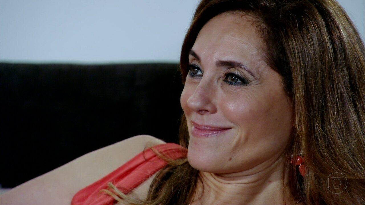 Fina Estampa - Capítulo de segunda-feira, dia 19/03/2012, na íntegra - Tereza Cristina descobre que Patrícia está grávida