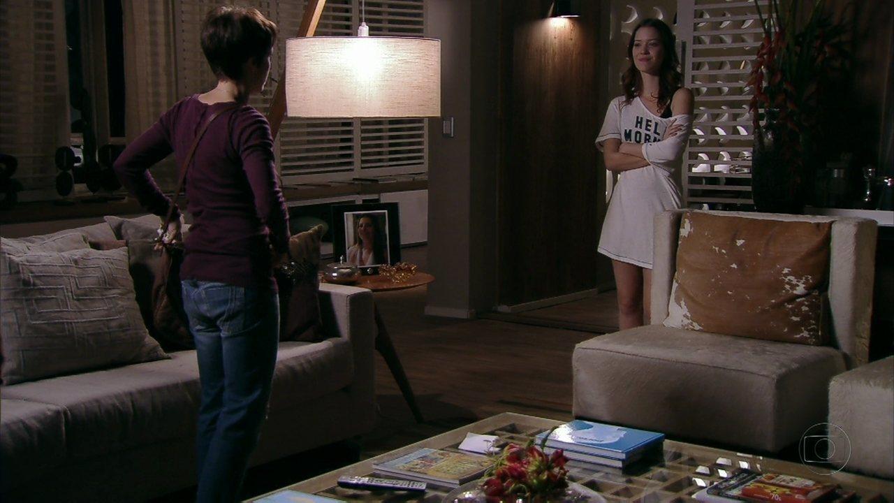 Avenida Brasil - Capítulo de quinta-feira, dia 10/05/2012, na íntegra - Nina pede para Débora ficar com Jorginho
