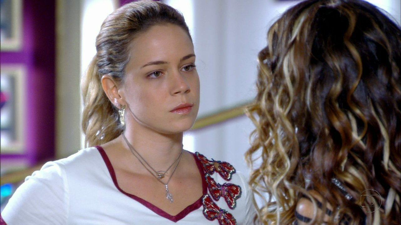 Cheias de Charme - Capítulo de quarta-feira, dia 16/05/2012, na íntegra - Rosário pede demissão durante entrevista de Chayene