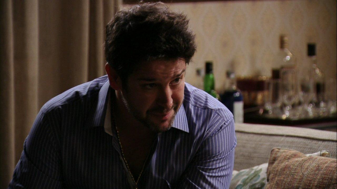 Avenida Brasil - Capítulo de terça-feira, dia 19/06/2012, na íntegra - Tufão confessa que está apaixonado por Nina