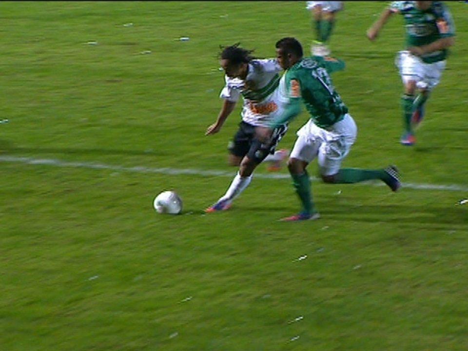 Melhores momentos de Coritiba 1 x 1 Palmeiras pela final da Copa do Brasil 2012