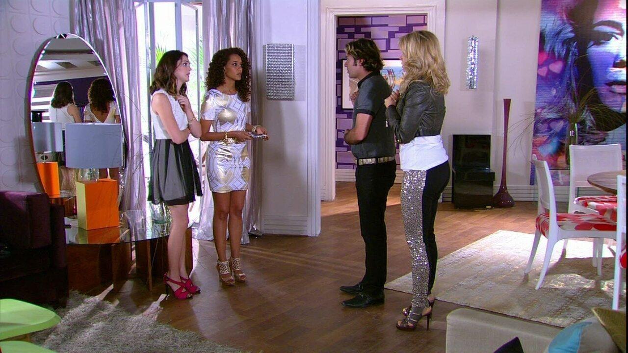 Cheias de Charme - Capítulo de sexta-feira, dia 27/07/2012, na íntegra - Penha e Rosário discutem e Cida tenta tranquilizá-las