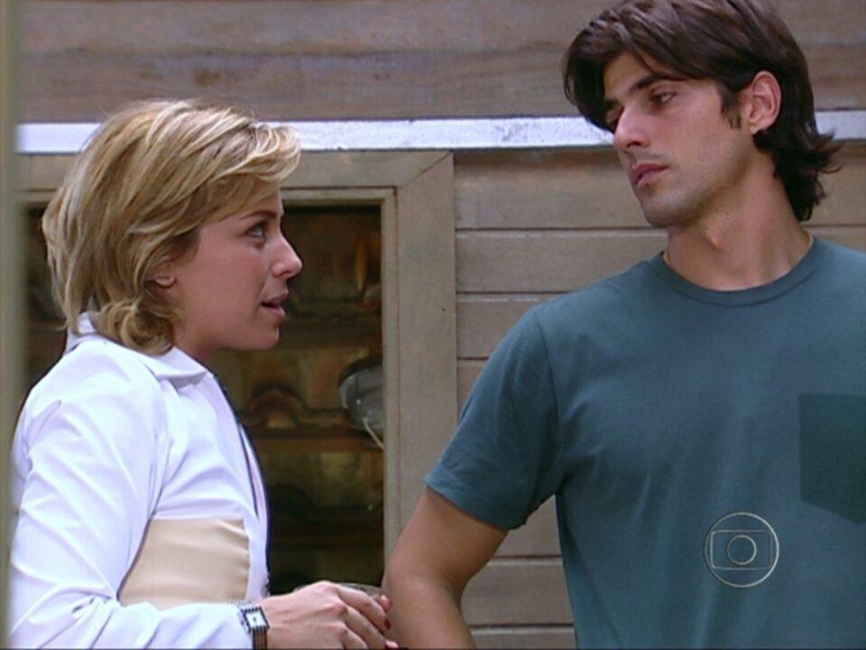 Da Cor do Pecado - Capítulo de terça-feira, dia 25/09/2012, na íntegra - Bárbara diz para Paco que está esperando um filho dele