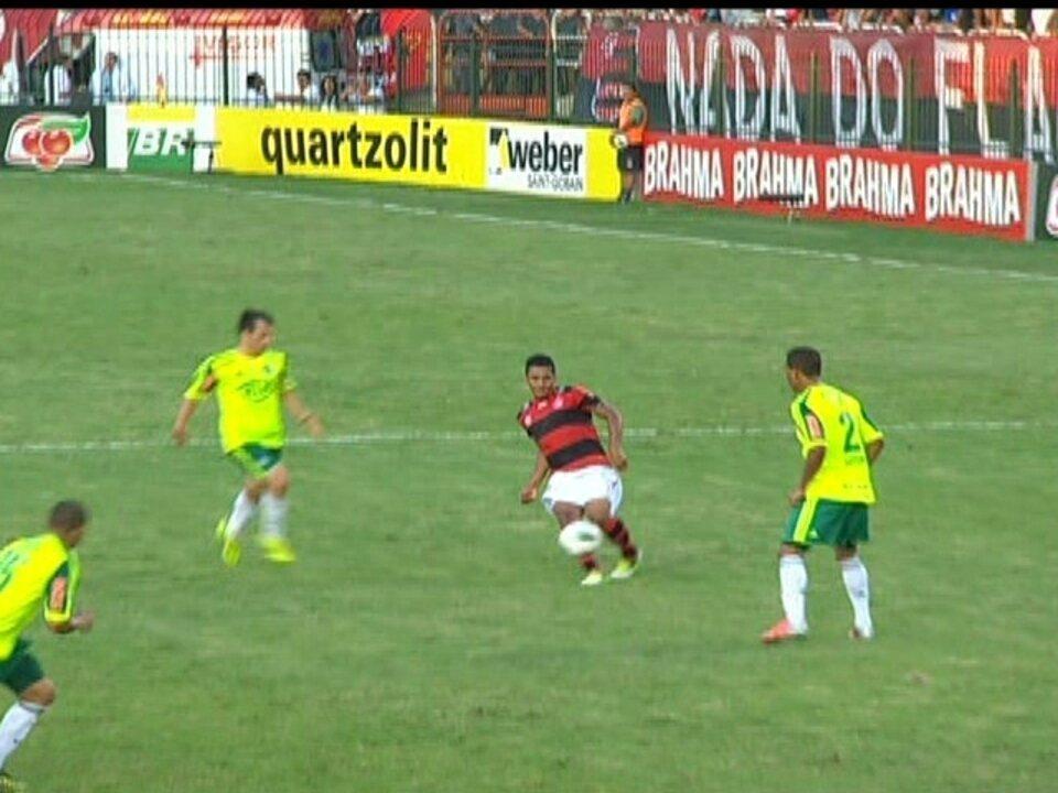 Flamengo 1 x 1 Palmeiras pela 36ª rodada do Brasileirão