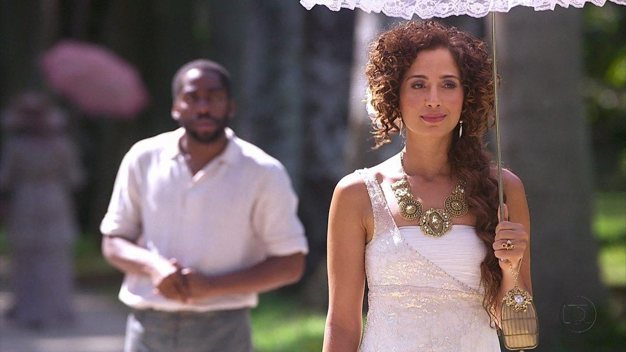 Lado a Lado - capítulo de quarta-feira, dia 28/11/2012, na íntegra - Zé Maria reencontra Isabel. Fernando seduz Catarina