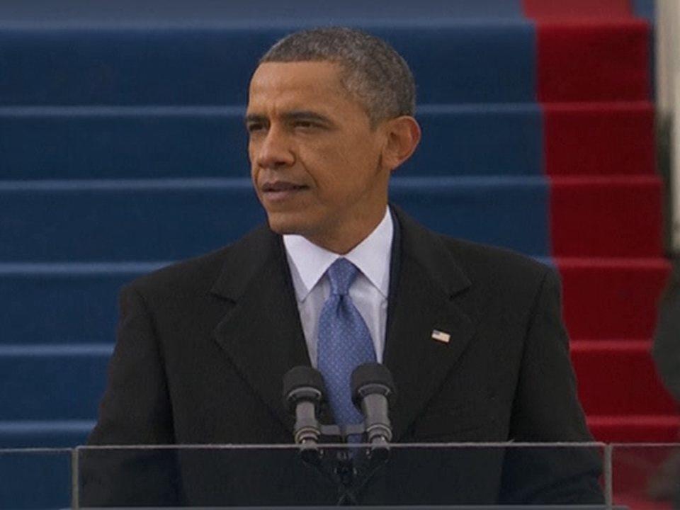 'Os tempos mudam, nós também temos que mudar', afirma Obama no discurso de posse