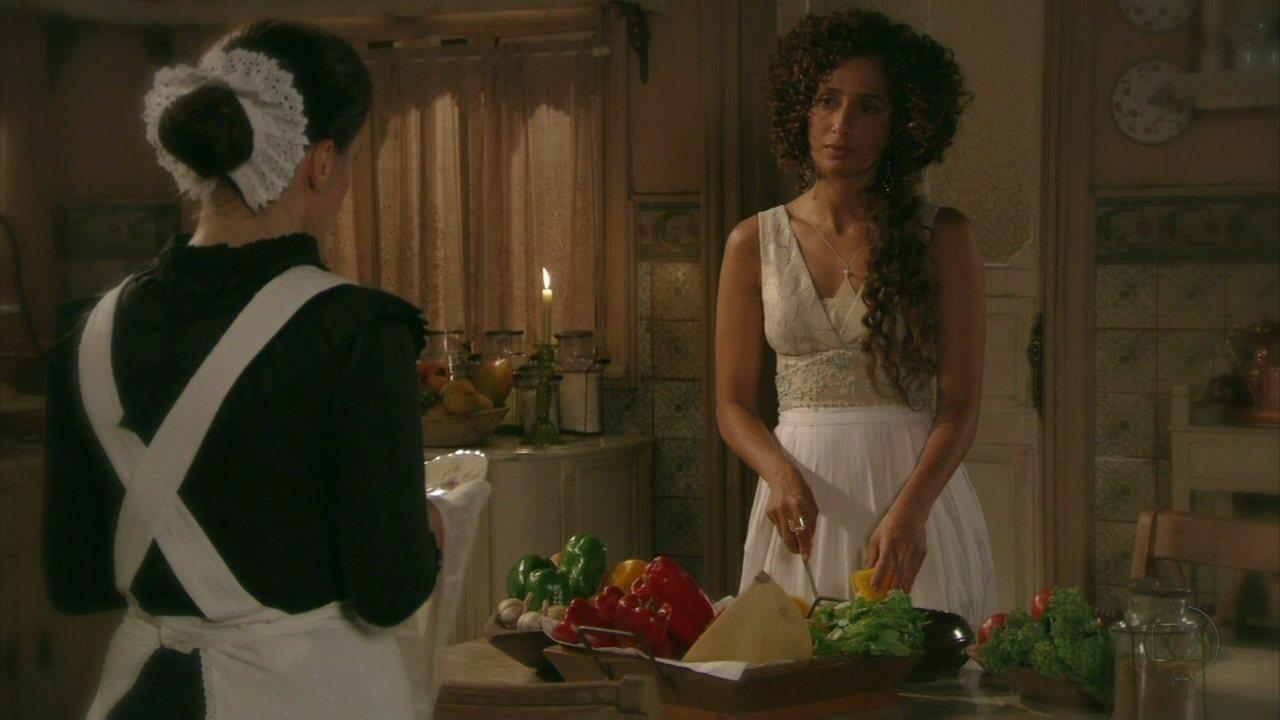 Lado a Lado - capítulo de quarta-feira, dia 23/01/2013, na íntegra - Albertinho procura Gilda e confessa seu interesse por ela