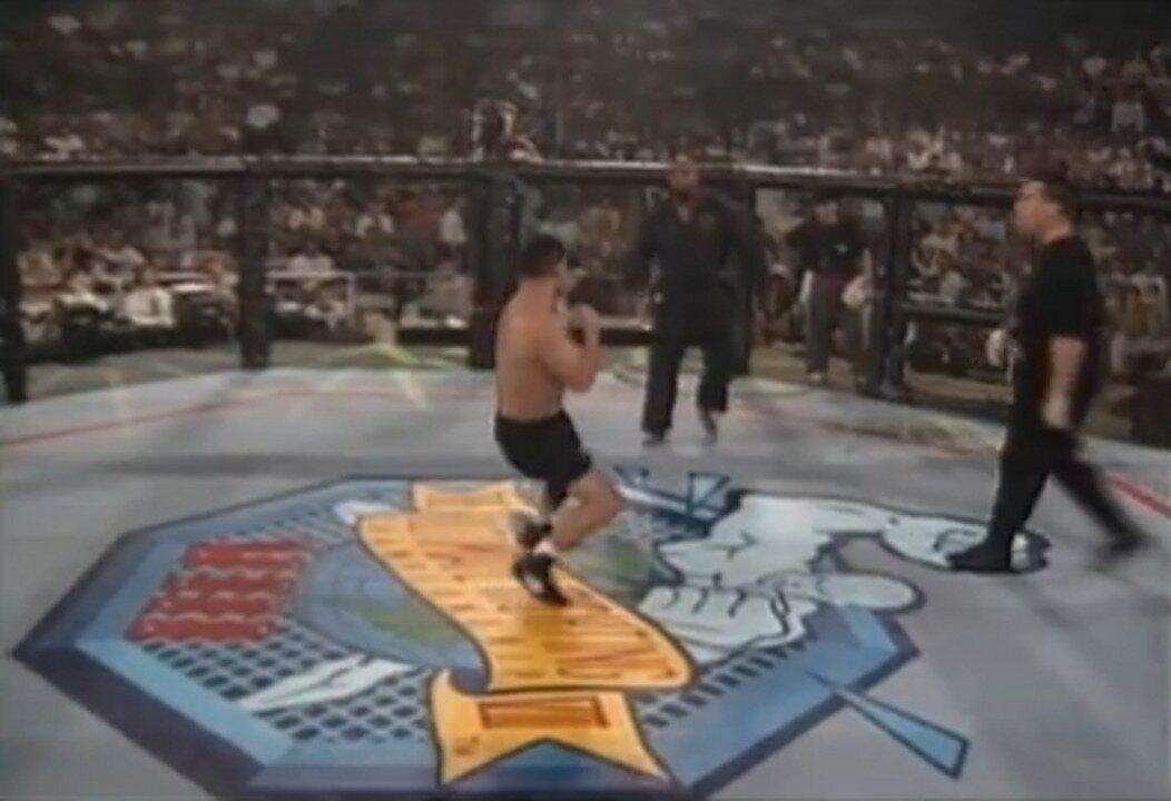 UFC 8 - Gary Goodridge X Paul Herrera