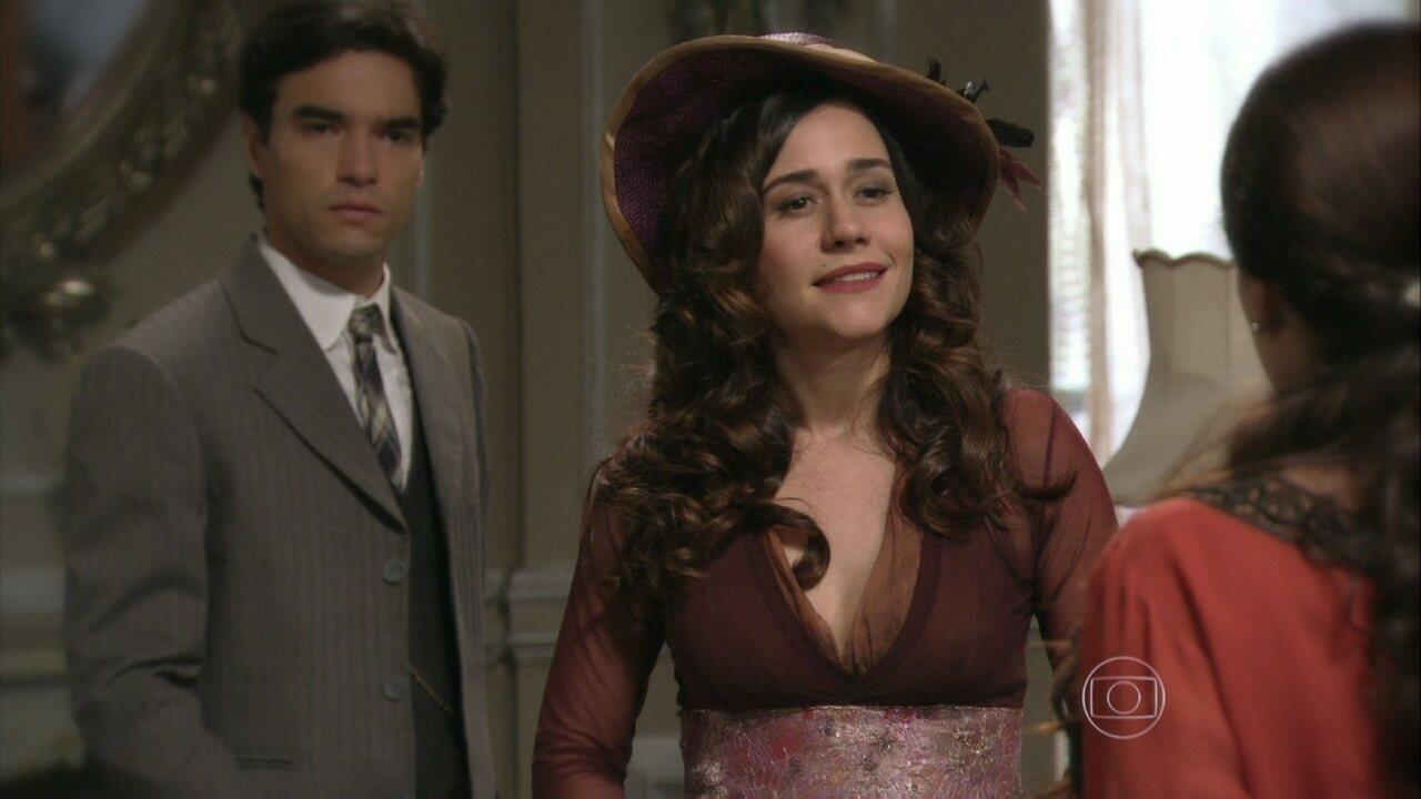 Lado a Lado - Capítulo de quinta-feira, dia 28/02/2013, na íntegra - Catarina confessa a Laura que desviou as cartas de Edgar para ela