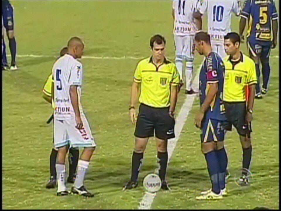 Marília venceu o São Bento com um gol de Anderson Cavalo, hoje no Bentão