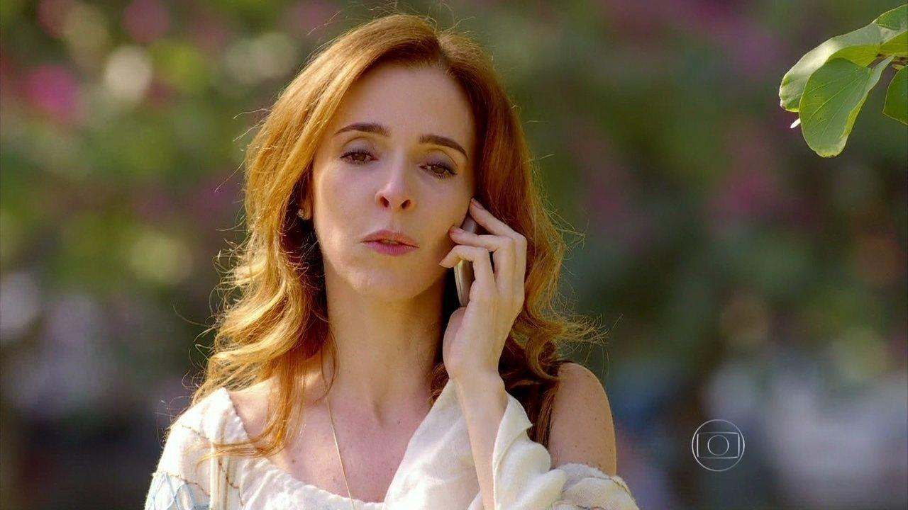 Sangue Bom - Capítulo de sexta-feira, dia 21/06/2013, na íntegra - Irene fala por telefone com Fabinho