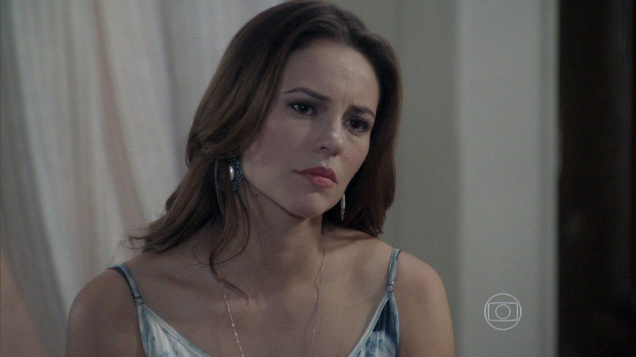 Amor à Vida - capítulo de sábado, dia 27/07/2013, na íntegra - Paloma pede para César revelar por que Mariah desistiu dela
