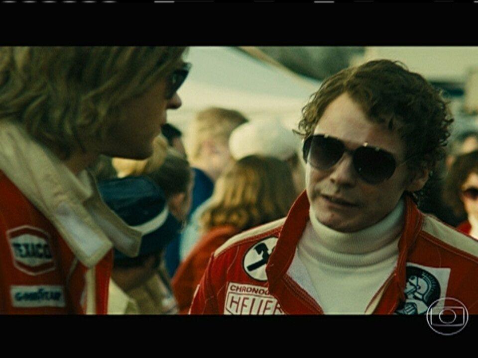 Filme conta a histórica rivalidade entre Niki Lauda e James Hunt na Fórmula 1