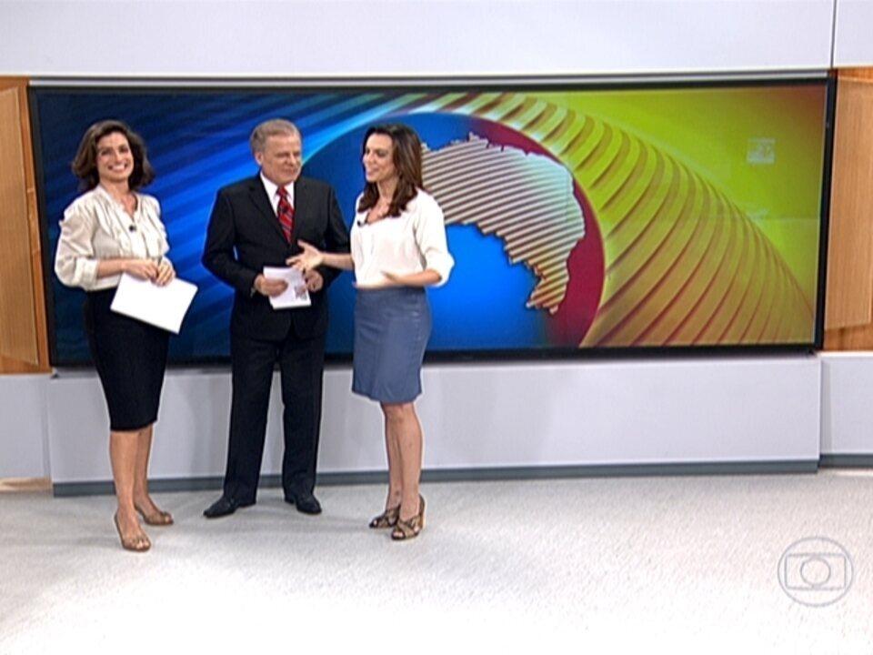 Renata Vasconcellos Se Despede Do Bom Dia Brasil