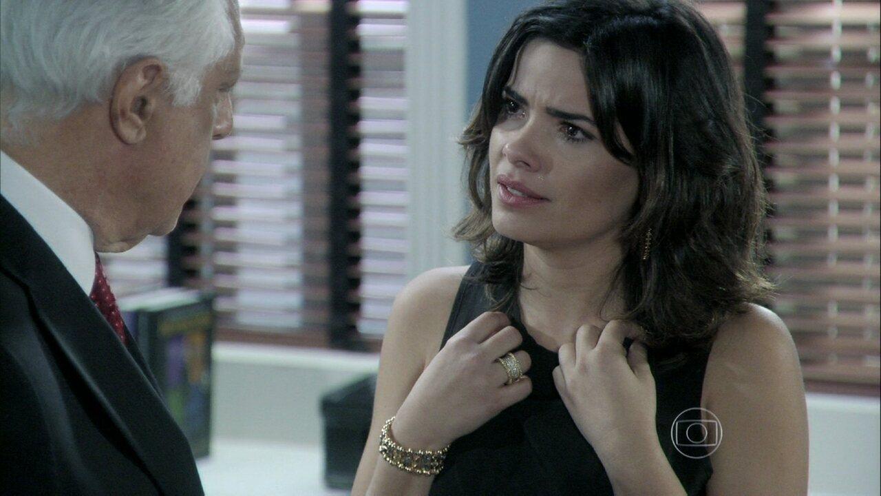 Amor à Vida - Capítulo de quinta-feira, dia 14/11/2013, na íntegra - Aline ameaça se separar de César