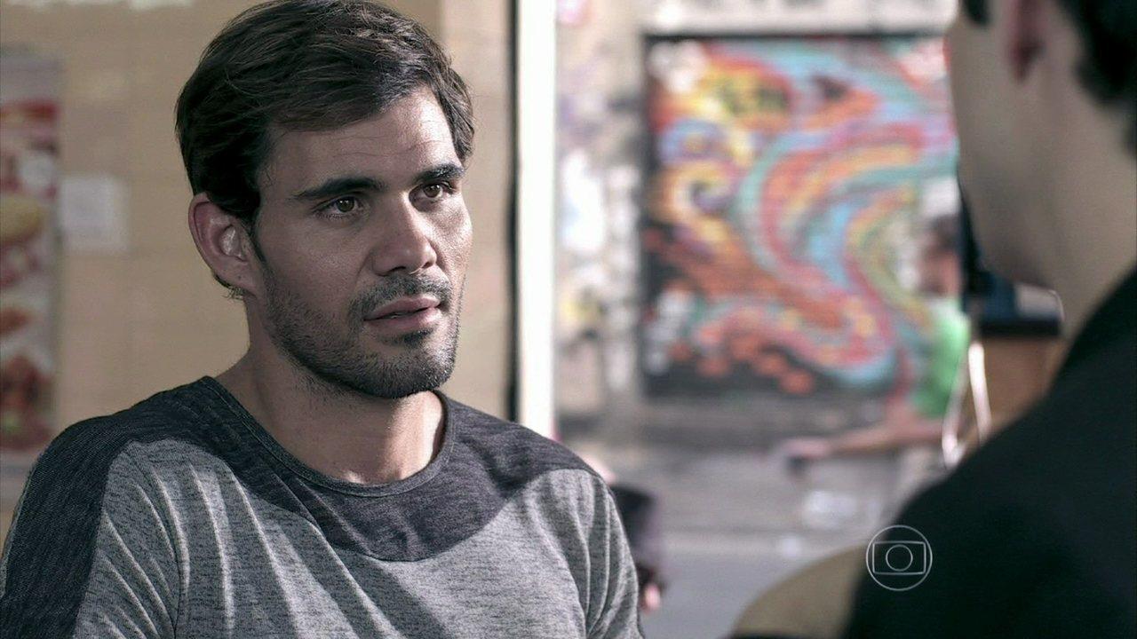 Amor à Vida - Capítulo de sábado, dia 23/11/2013, na íntegra - Ninho convida Félix para morar com ele