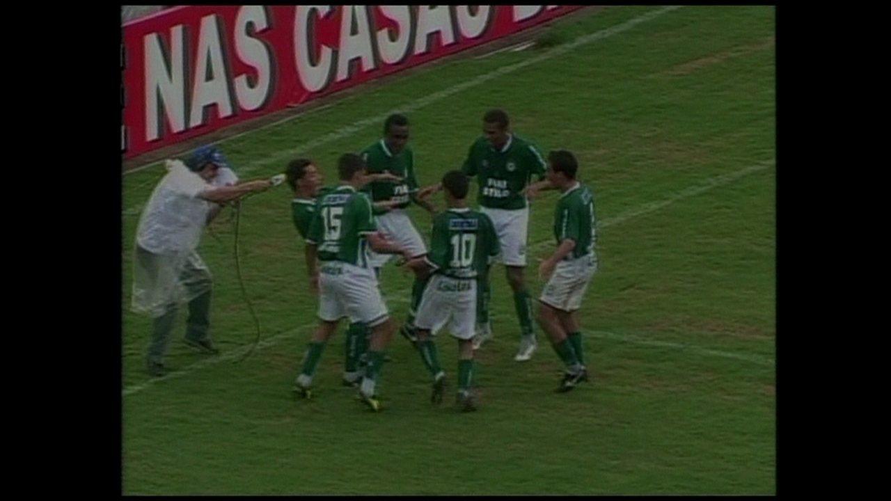 Em 2003, Goiás faz 3 a 0 sobre o Santos e garante vitória no Brasileirão
