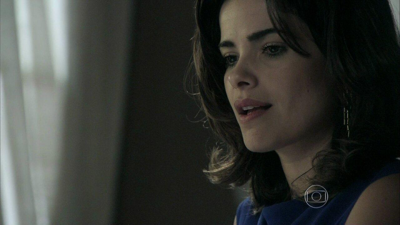 Amor à Vida - Capítulo de Sábado, dia 07/12/2013, na íntegra - Aline consegue senha do cofre