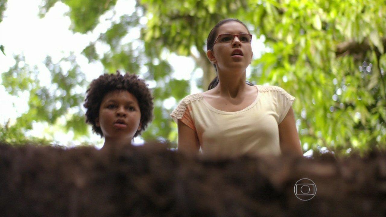 Além do Horizonte - capítulo de quinta-feira, dia 23/01/2014, na íntegra - Celina e Nilson encontram William e o ajudam a escapar